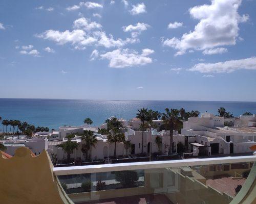 Toller Meerblick vom Balkon