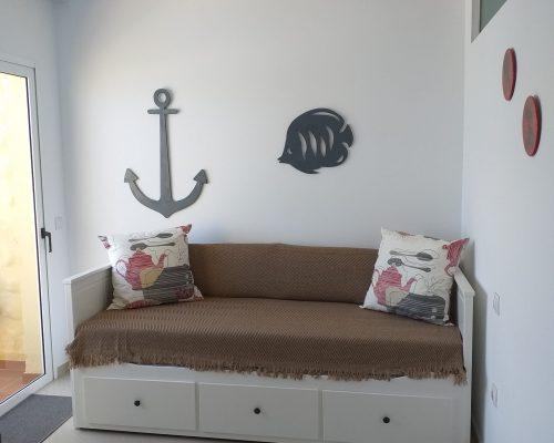Schlafzimmer 2 mit Ausziehcouch