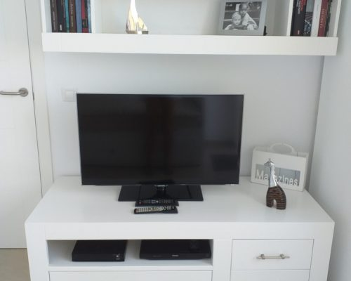 Schlafzimmer 2 mit SAT TV