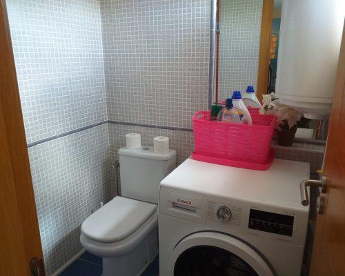 GWC mit Waschmaschine