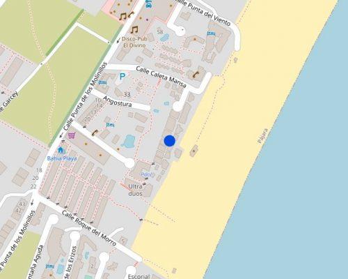 Standort Penthouse Parque Ventura