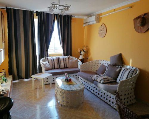 Wohnbereich mit Klimaanlage